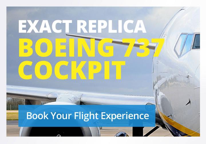 Cambridge flight experience, book your flight experience, flight simulator experience