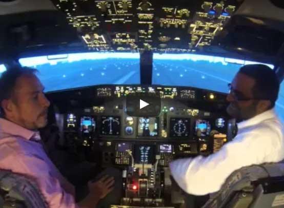 Heart FM's Kev and Ros Visit Flight Studio